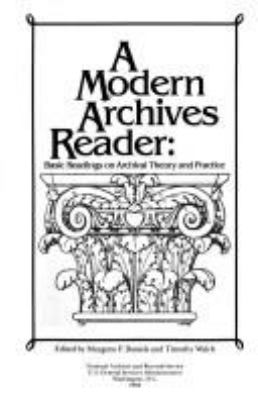 A modern archives reader