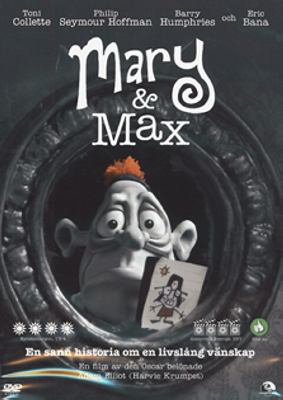 Mary and Max [Videoupptagning] = Mary & Max