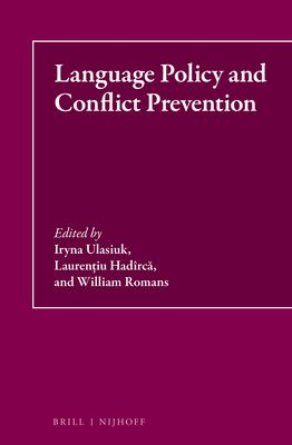 Language Policy and Conflict Prevention